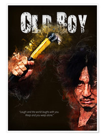 Plakat Oldboy - Minimal Movie Movie Fanart Alternative