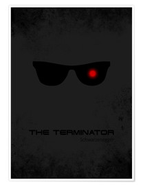 Plakat Terminator - Minimal Film Movie Fanart Alternative