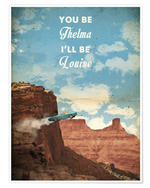 Plakat Thelma and Louise