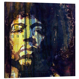 Obraz na aluminium  Jimmy Hendrix - Paul Lovering