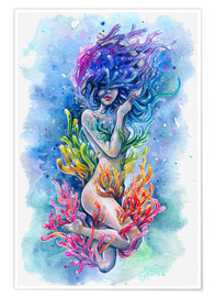 Plakat The aura of a mermaid