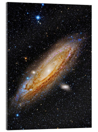Obraz na szkle akrylowym  Messier 31, the Andromeda Galaxy. - Roberto Colombari