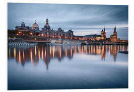 Obraz na PCV  Dresden old town at the blue hour - Philipp Dase