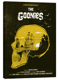 Obraz na płótnie  The Goonies - Golden Planet Prints