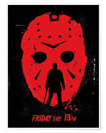 Plakat Friday the 13th