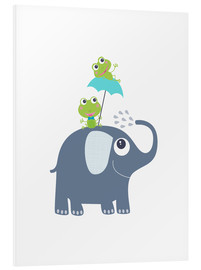 Obraz na PCV  Frogs and elephant - Jaysanstudio