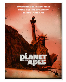 Plakat Planet of the Apes