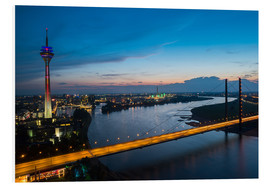Obraz na PCV  Dusseldorf Skyline at night - rclassen