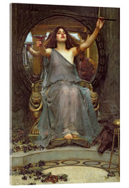 Obraz na szkle akrylowym  Circe Offering the Cup to Ulysses - John William Waterhouse