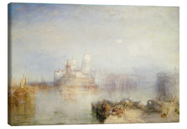 Obraz na płótnie  The Dogana and Santa Maria della Salute - Joseph Mallord William Turner