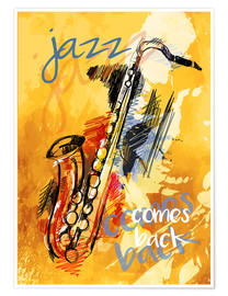 Plakat Jazz comes back