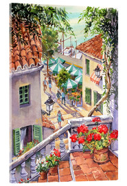 Obraz na szkle akrylowym  Harbour Steps - Paul Simmons
