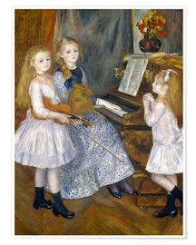 Plakat  The Daughters of Catulle Mend?s - Pierre-Auguste Renoir