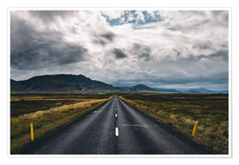 Plakat Streets of Iceland # 1