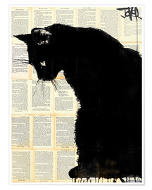 Plakat Black cat