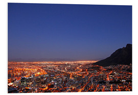Obraz na PCV  Cape Town at night, South Africa - wiw