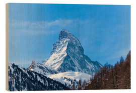 Obraz na drewnie  The Matterhorn, Switzerland