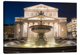 Obraz na płótnie  Fountain and Bolshoi Theatre