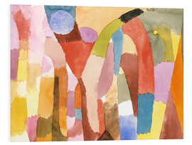 Obraz na PCV  Movement of Vaulted Chambers - Paul Klee