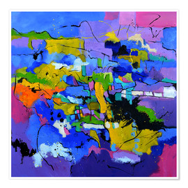 Plakat Colorful color play