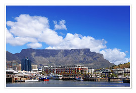 Plakat  Lovely Cape Town, South Africa - wiw