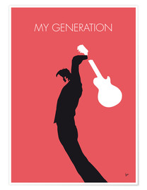 Plakat  The Who - My Generation - chungkong