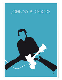 Plakat Chuck Berry - Johnny B. Goode