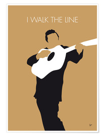 Plakat  Johnny Cash - I Walk The Line - chungkong