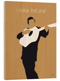 Obraz na drewnie  Johnny Cash - I Walk The Line - chungkong