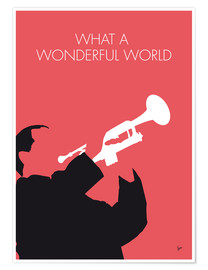 Plakat Louis Armstrong - What A Wonderful World