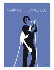Plakat Lou Reed - Walk On The Wild Side
