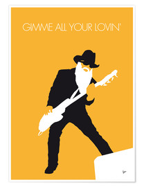 Plakat ZZ Top - Gimme All Your Lovin'