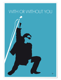 Plakat U2 - With Or Without You