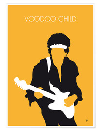 Plakat Jimi Hendrix - Voodoo Child