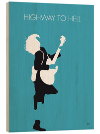 Obraz na drewnie  AC/DC - Highway To Hell - chungkong