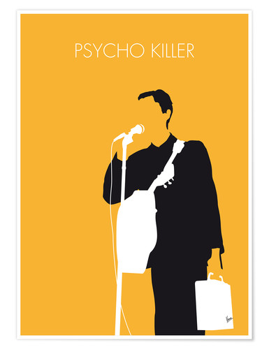 Plakat Talking Heads - Psycho Killer
