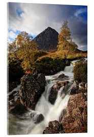 Obraz na szkle akrylowym  Scotland in Autumn - Buchaille Etive Mor - Martina Cross