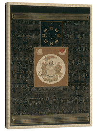 Obraz na płótnie  Zhenwu with the Eight Trigrams, the Northern Dipper, and Talismans, Qing dynasty - Chinese School