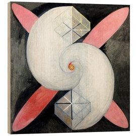 Obraz na drewnie  The swan, No. 21 - Hilma af Klint