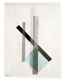 Plakat  Construction (glass architecture) - László Moholy-Nagy
