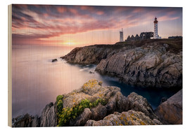 Obraz na drewnie  Lighthouse of St. Mathieu (France / Brittany) - Kristian Goretzki