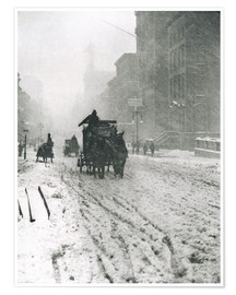 Plakat Winter - Fifth Avenue