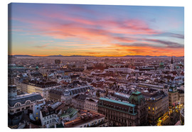 Obraz na płótnie  Vienna Skyline at sunset, Austria - Mike Clegg Photography