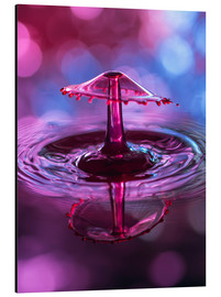 Obraz na aluminium  High-speed water droplets with Bokeh - Stephan Geist