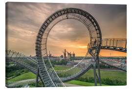 Obraz na płótnie  Tiger & Turtle Magic Mountain Duisburg - Dennis Stracke