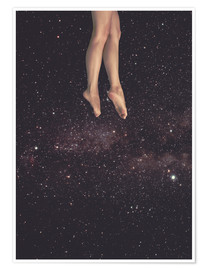 Plakat Hung in Space
