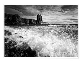 Plakat  CastlKeis Castle, Wick, Scotland - Martina Cross