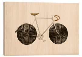 Obraz na drewnie  Licorice Bike - Florent Bodart