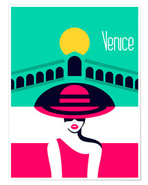 Plakat  Stylish journey - Venice - Sasha Lend
