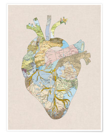 Plakat A Traveler's Heart